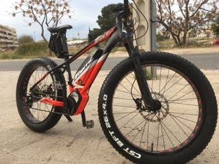 Bici fatbike electrica