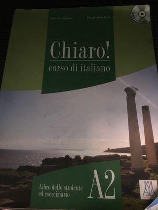 Libro de italiano chiaro a2