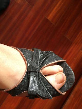 Sandalias cuña