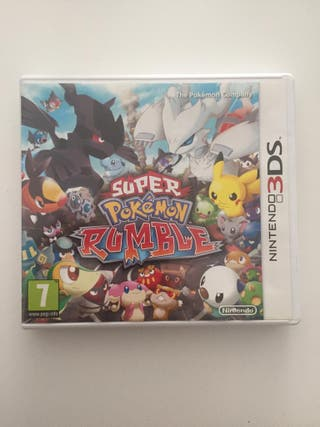 Super Pokemon Rumble videojuego DS