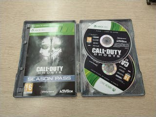 Xbox 360 Call of duty Ghost metal