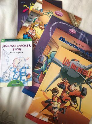 Seis libros cuentos niños