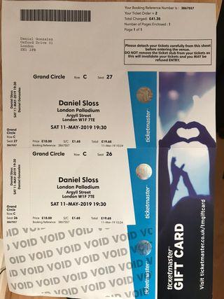 Daniel Sloss tickets