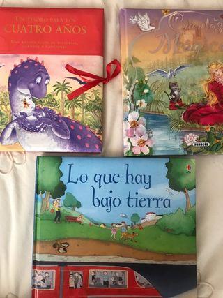 Tres cuentos niños infantiles