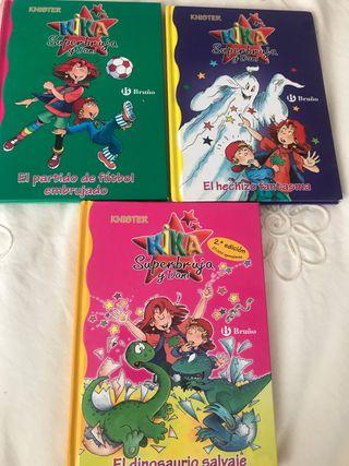 Tres libros kika