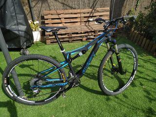 Bicicleta Btt 29 doble carbono