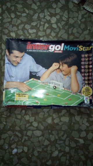 juego de fútbol de chapas oficial de LFP