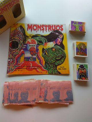 CROMOS MONSTRUOS REYAUCA - TRUEKE - MONSTERS