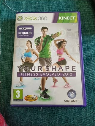 xbox 360 juego your shape