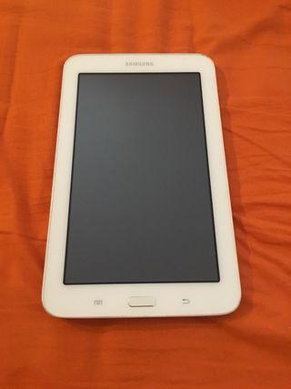 """Tablet Samsung Galaxy 8 GB 7"""" blanca"""