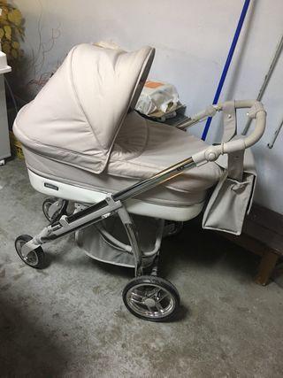 Carro, maxicosi y silleta con fundas