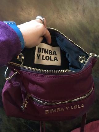 Bolso original bimba & lola (material nylon)
