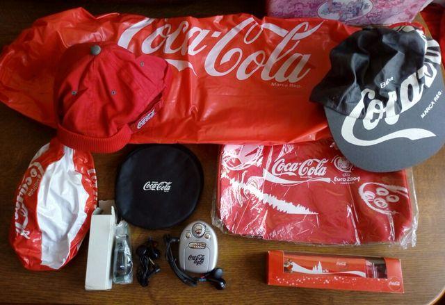 lote articulos Coca cola