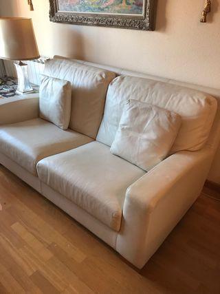 Sofa piel marca Grassoler