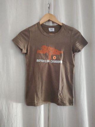 Camiseta África. Talla S