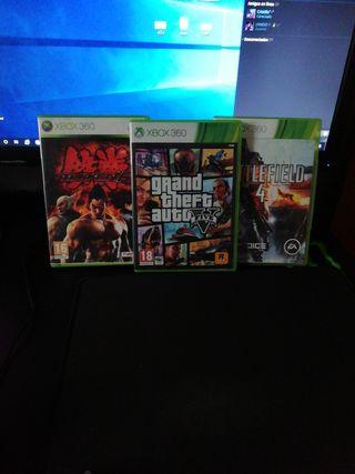 3 Juegos Xbox 360