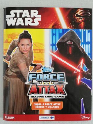 """Album completo Star Wars """"Heroes y Villanos"""""""