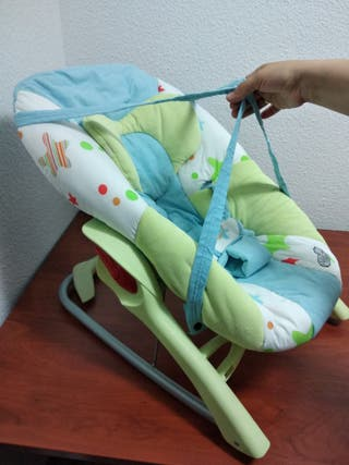 Hamaca balancín de bebé confort