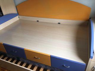 Canapé juvenil para cama 105cm