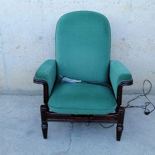 Butaca reclinable amb comandament
