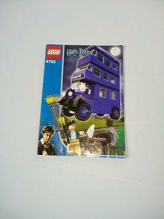 Lego 4755. Instrucciones Harry Potter