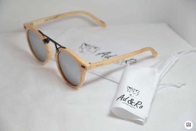 NUEVAS! Gafas de sol redondas madera polarizadas.