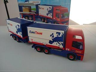 Playmobil 4323. Camión tráiler Euro Trans