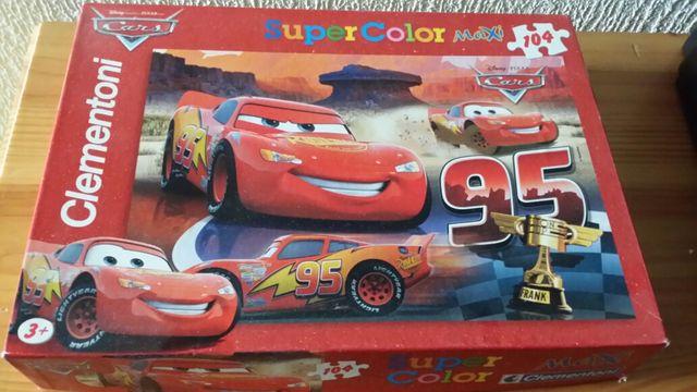 Puzzle 104 piezas gigantes de Cars
