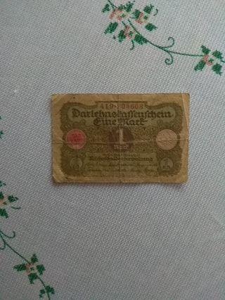 billete de Alemania