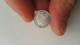 Moneda medio real de plata Fernando VI