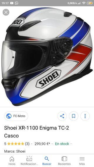 casco integral shoei XR enigma TC-2