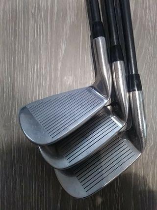 Golf palos oversize. Hierros, Irons
