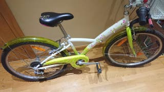 Bicicleta infantil 24 pulgadas Decathlon