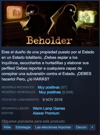 Beholder Steam