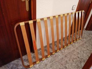 Somier + colchón 90cm con 4 patas