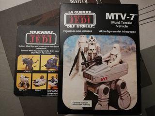 Star Wars, MTV 7 Vintage Made in Spain, Sellado.