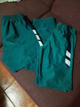 3 Pantalones de chandal,cortos