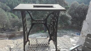 mesa para tejer