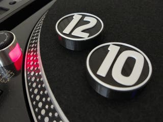 Centradores single 45 rpm 1210 Technics