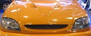 Parrilla sin logo fibra de vidrio citroen saxo