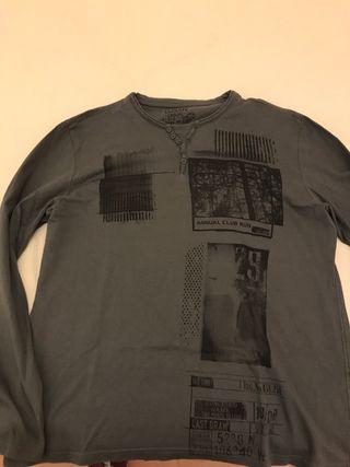 c4a746a94 Camisetas manga larga hombre de segunda mano en Barcelona en WALLAPOP