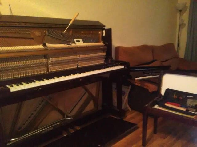Afinador de pianos