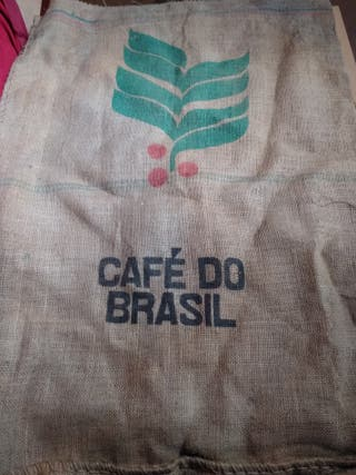 antiguo saco cafe do brasil