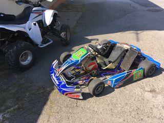 Kart 125 motor k9 6 velocidades