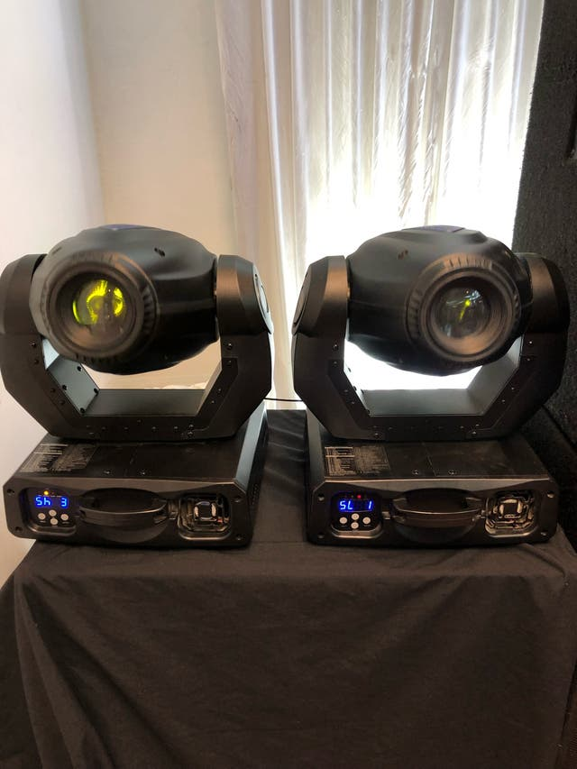 Dj lights - Imove 250s moving heads
