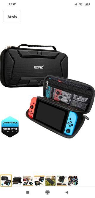 Funda Nintendo Switch Nueva con protector pantalla