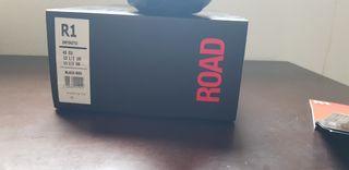 zapatillas fi'zi:k infinito R1 black/red