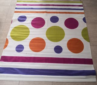 estor y 2 colchas cama individual