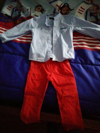 conjunto niño malloral talla 24 meses