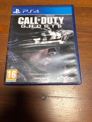 Juego ps4 call of duty ghosts